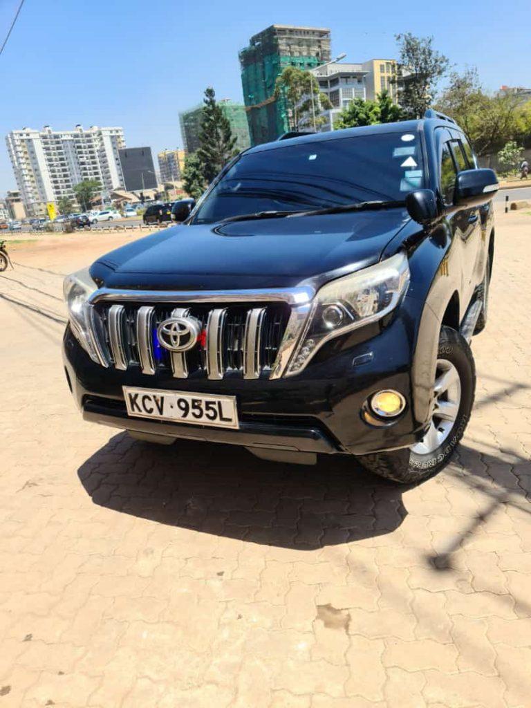 TX Prado for hire. Car hire in Nairobi Kenya