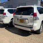 car rental services in Nairobi. Car for hire, Prado for hire.