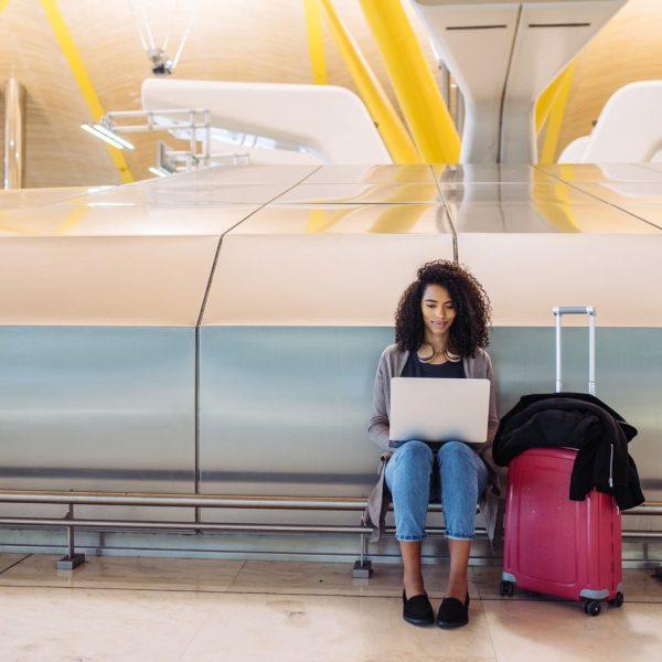 Prado for airport transfers