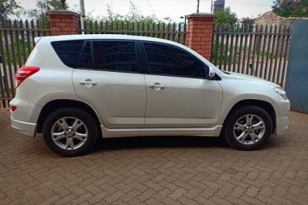 TOYOTA RAV4 FOR HIRE. Car rental in Nairobi Kenya at affordable price.