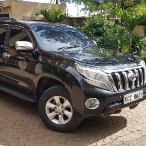 Toyota Prado for hire. Car rental in Nairobi Kenya at affordable price.