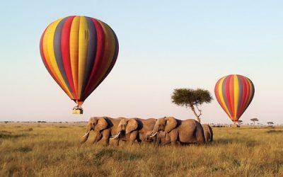 hot air balloon Maasai Mara